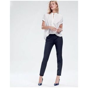 J. Crew Martie pants in navy blue